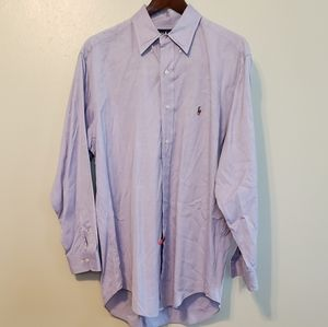 Ralph Lauren mens dress shirt size 16  32/33
